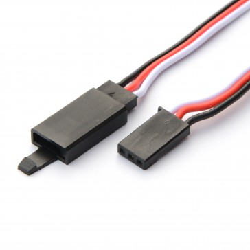 600mm 22AWG Futaba extension leads with Hook (1pcs)