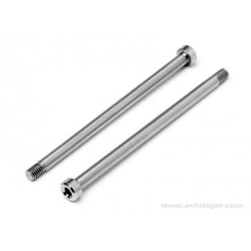 Titanium Rear Outer Hinge Pin (pr)