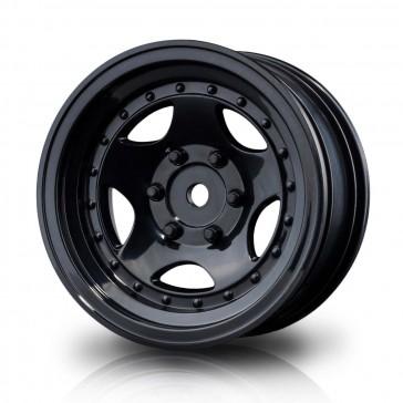 "Black 236 1.9"" wheel (+5) (4)"