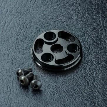 RMX Alum. spur gear cover (black)