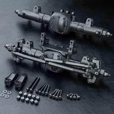 MSA Front & Rear axle set