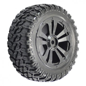 SURGE SHORT COURSE MOUNTED WHEELS/TYRES (PR)