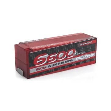 P5 1/8 Offroad Stock Spec GRAPHENE-2 6600mAh 14.8V LiPo - 120/60C