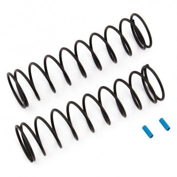 REAR SPRINGS V2 BLUE 4.3LB/IN RC8B3/RC8B3.1