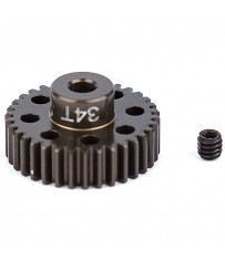 "FACTORY TEAM ALUM. PINION GEAR 34T 48DP 1/8""SHAFT"