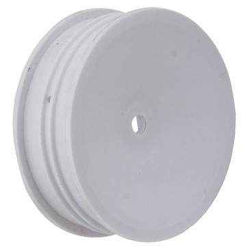 BUGGY WHEEL 2WD SLIM FRONT 2.2 12MM HEX WHITE