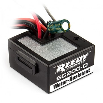 SC200D ESC/RX ALL IN ONE UNIT (FOR 1/18TH REFLEX)