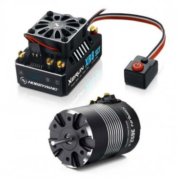 Xerun XR8 SCT Combo and 3652-6100kV (5mm Shaft) for 1:10 4WD
