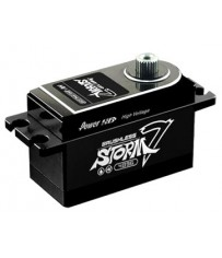 DISC.. STORM-7 HV BRUSHLESS DIGITAL SERVO with Full CNC Casing