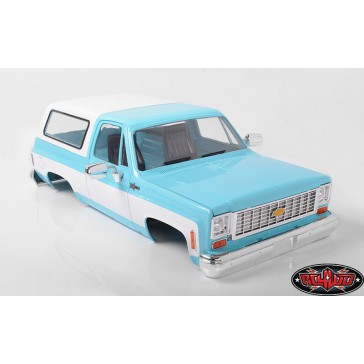 RC4WD Chevrolet Blazer Hard Body Complete Set (Light Blue)