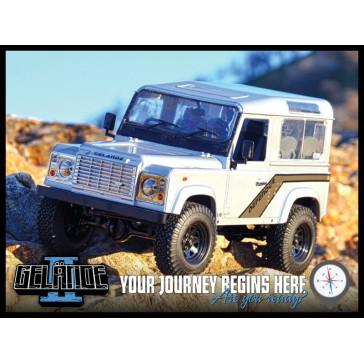 Gelande II Truck Kit w/Defender D90 Body Set