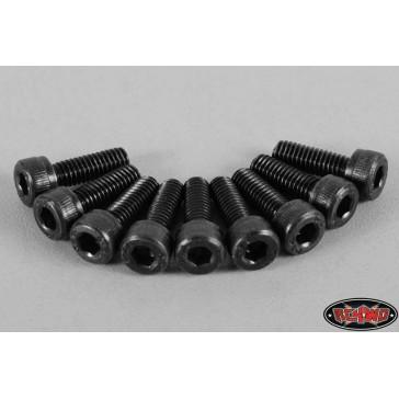 Steel Socket Head Cap Screws M4 X 12mm (10)