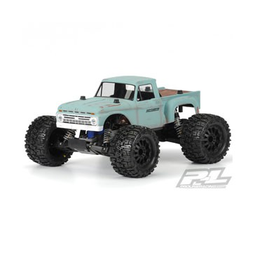 1966 FORD F-100 CLEAR BODY FOR TRAXXAS STAMPEDE