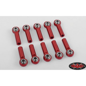 M4 High Precision Billet Tie Rod End (Red) (10)