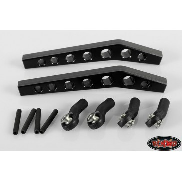 SLVR Upper 4 Links for Axial Wraith (pair)