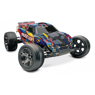 DISC.. Traxxas Rustler VXL Brushless With TSM