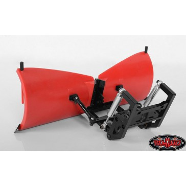 RC4WD Super Duty V Snow Plow (Red)