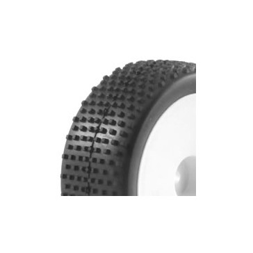 1/10TH MOUNTED BUGGY TYRES LP 'BLOCK' FRONT