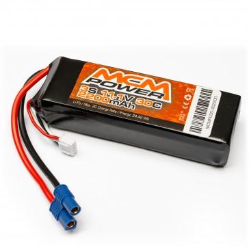 Soft case 30C 2200mha 3S 11,1V (EC3)