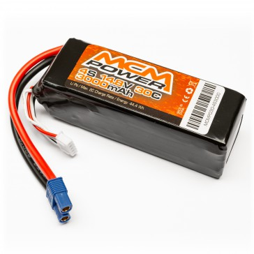 Soft case 30C 3000mha 4S 14,8V (EC3)