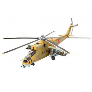 Model Set Mil Mi-24D Hind 1:100