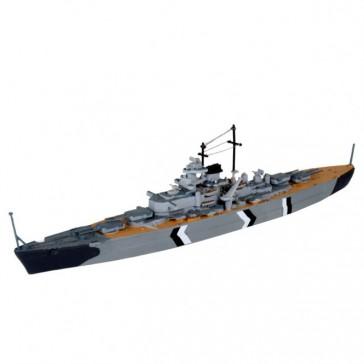 Model Set Bismarck 1:1200