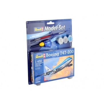 Model Set Boeing 747-200 1:450