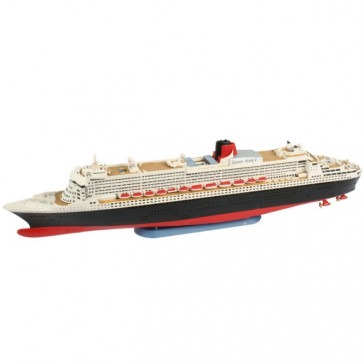 Model Set Queen Mary 2 1:1200