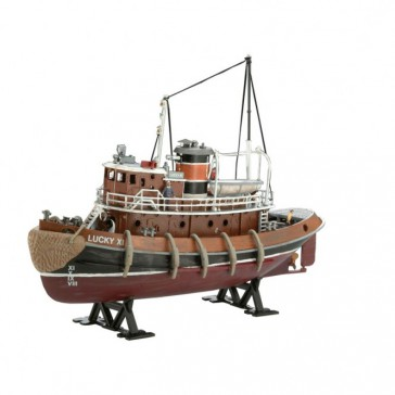 Model Set Harbour Tug Boat 1:108