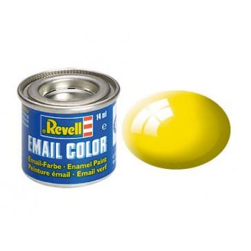 geel, glanzend