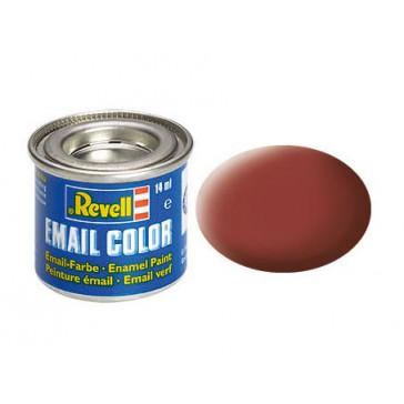 reddish brown mat