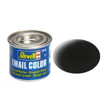 zwart, mat