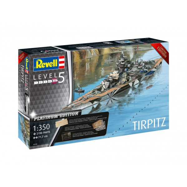 Carte Bleue Platinum.Revell Revell 1 350 Tirpitz Platinum Edition Mcm Group