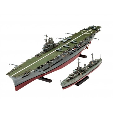HMS Ark Royal & Tribal Class Des 1:720