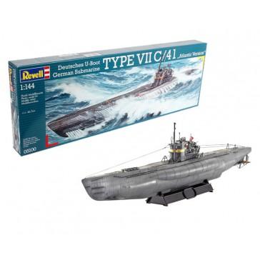 Sous-marin Type VII C/41 1:144