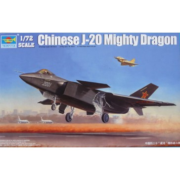 Chinese J-20 Fighter 1/72
