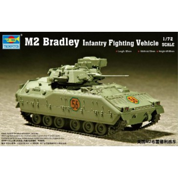 M2/M3 Bradley F.Veh. 1/72