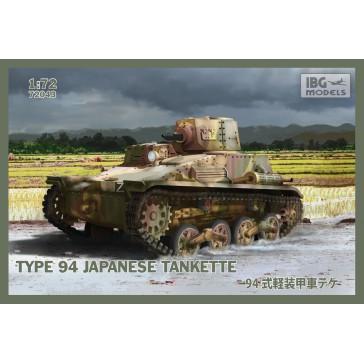 Type94 Jap.Tankette Late prod. 1/72