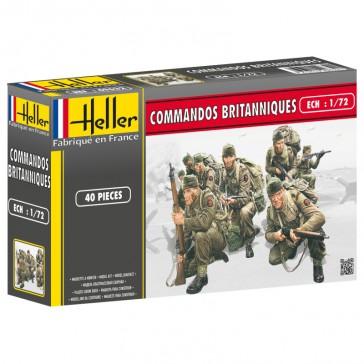 Commandos Britanniques 1/72