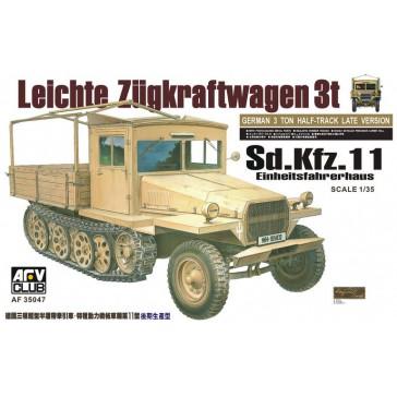 Sd.Kfz.11 Einheitsfahrhaus 1/35
