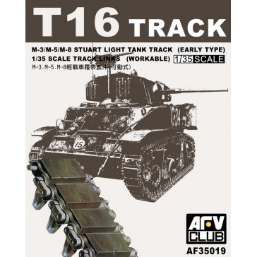 Tracks M3/M5 Rubber 1/35