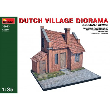 Dutch Village Diorama 1/35