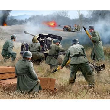 German 7,5 cm PaK40 & soldiers 1:72