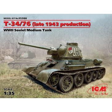 T-34/76 WWII Sov.Medium Tank 1/35