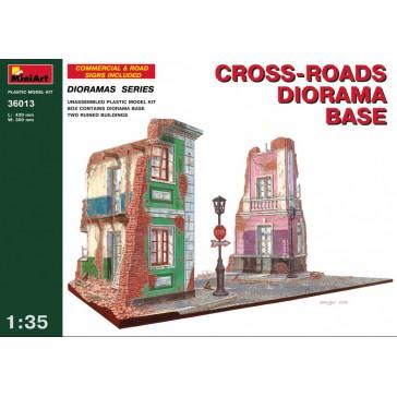 Diorama CrossRoad Base 1/35