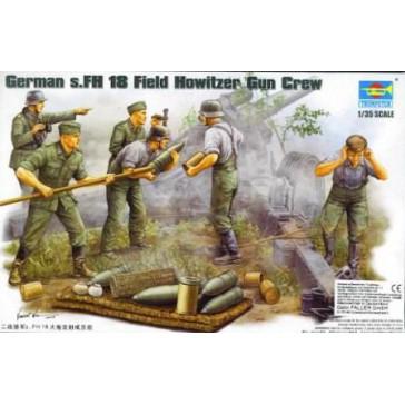 Field Howitzer Crew1 1/35