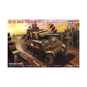 U.S M4 Tank (Mid-Model) 1/48
