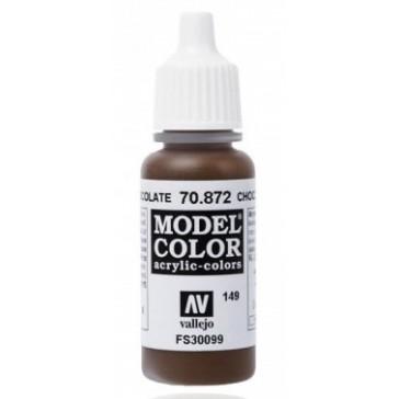 Acrylic paint Model Color (17ml) - Matt Chocolate Brown