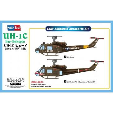 UH-1C Huey Helicopter 1/48