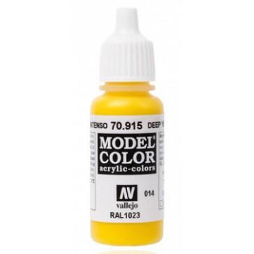 Peinture Acrylique Model Color (17ml) - Matt Deep Yellow